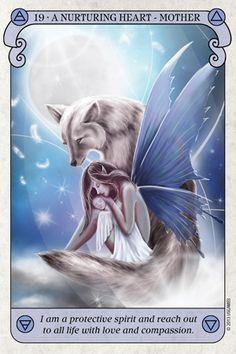 Conscious Spirit Tarot deck - actually looks more like oracle cards than tarot, but I'm still curious
