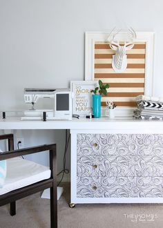 Table And Six Chairs | Craft Ideas | Pinterest | Camp Lejeune, Yard Sale  And Craft