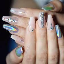 Bildresultat för chrome nails