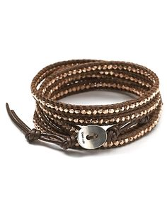 Have this wrap bracelet and LOVE it - Chan Luu