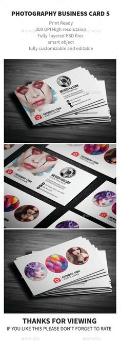 Photography Business Card Template PSD. Download here: http://graphicriver.net/item/photography-business-card-/12056923?s_rank=1796&ref=yinkira