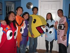 Pac-Man Group Costume by bmac on Craftster