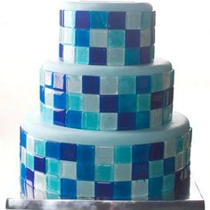 How to make isomalt tiles to decorate a cake
