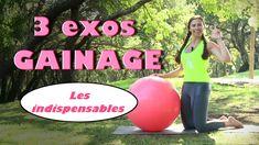 3 exos de gainage INDISPENSABLES (abdos swissball niveau intermédiaire)