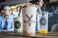 The best bubble tea in Toronto is the stuff that boba dreams are made of. There are already hundreds of fruit and milk tea options in the city (and. Bubble Tea Balls, Bubble Tea Near Me, Bubble Tea Menu, Bubble Tea Flavors, Bubble Tea Shop, Bubble Milk Tea, Pop Bubble, Tea House Menu, Matcha Green Tea Benefits