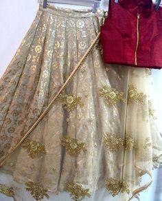 Bollywood Indian Party Wear Lehenga Lengha Choli Wedding Saree Pakistani Lehenga for sale Pakistani Lehenga, Gold Lehenga, Lengha Choli, Pakistani Bridal, Sabyasachi, Bridal Lehenga, Saree Wedding, Brocade Lehenga, Lehenga Suit