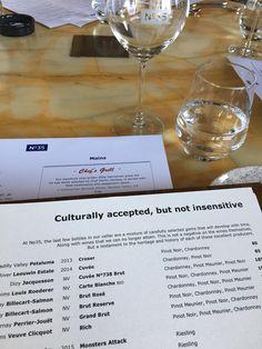This restaurants culturally respectful drinks menu