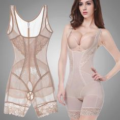fa34dead1e7 Women Summer Style Body Shapers Shaping Slim Underwear Waist Corsets Butt  Lifter Sculpting Clothing Shapewear Bodysuit