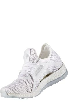 b54b38b637ae Adidas Just Released All-White PureBoost X Sneakers . . . and They Belong  on Your Feet