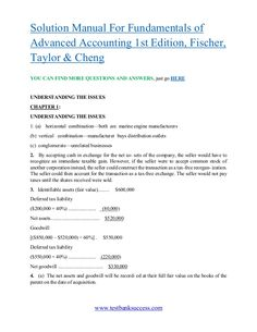 Download economics of strategy 6th edition solution manual by testbanksuccess solution manual for fundamentals of advanced accounting 1st edition fischer fandeluxe Choice Image