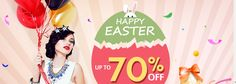 Milanoo Up To 70% Off Easter Sale http://couponscops.com/store/milanoo #Milanoo #couponscops  #Wedding #Women #Lace_wedding_dress #Men  #Party #Occasions #Costumes #Shoes Milanoo Coupon Code 2017, Milanoo Promo Codes, Milanoo Discount Code, Milanoo Voucher Codes, CouponsCops.com