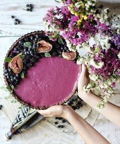 Blackberry tart recipe Blackberry Tart Recipes, Shortcrust Pastry, Homemade Pie, Dessert Recipes, Desserts, Custard, Acai Bowl, Dishes, Fruit