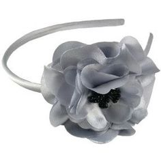 Smoothies Laser Cut Flower HeadbandLight Gray 01610 >>> Click on the image for additional details.(This is an Amazon affiliate link and I receive a commission for the sales)