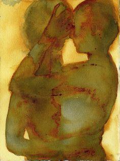 Couple Arte Obscura, Arte Sketchbook, Art Anime, Wow Art, Pics Art, Psychedelic Art, Pretty Art, Aesthetic Art, Collage Art