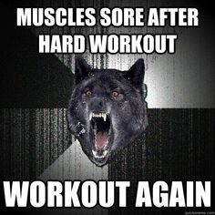 work out again!