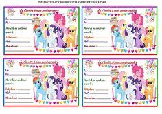 Anniversaire :  Etiquettes cadeaux et invitations LITTLE PONY pour les anniversaires des enfants http://nounoudunord.centerblog.net/4277-etiquettes-et-invitations-little-pony-pour-anniversaire