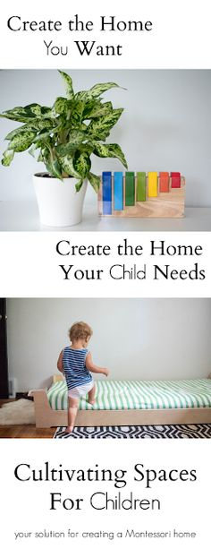 Create Montessori-Inspired Spaces at Home for Your Child - Group Coaching - Informationen zu Create Montessori-In. Montessori Baby, Montessori Classroom, Montessori Activities, Activities For Kids, Play Spaces, Learning Spaces, Art Spaces, Parenting Toddlers, Parenting Hacks