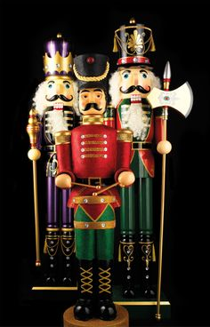 **1** (2014 pic)  Paint the little ones!!  Nutcrackers collection