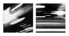 STUDIES IN LIGHT A & B - 24 x 24 ea - mixed media on wood w/ resin finish - 2013 Deconstruction, Graffiti, Fine Art Prints, Mixed Media, Graphic Design, Black And White, Ea, Artwork, Resin