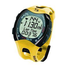 El pulsómetro RC 14.11 es un modelo de gama alta con toda la tecnología de Sigma. Mide la aceleración durante la carrera y calcula velocidad y distancia. Durante el entrenamiento, los usuarios pueden ver su frecuencia cardíaca actual, los km, el número total de calorías quemadas en un vistazo, la velocidad media, contador de vueltas, etc. Precio 100€. + Info http://www.bikingpoint.es/pulsometro-sigma-rc-14-11-amarillo.html #Sigma #Pulsómetro