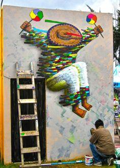 Spaik, Morelia, Street Art, Graffiti,
