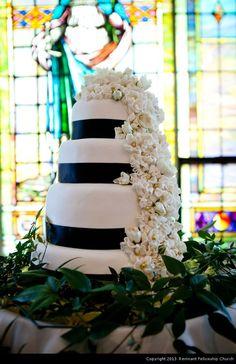 Westebbe Remnant Fellowship Church Wedding - Wedding Cake