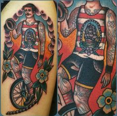 Samuele Briganti - orbetello, Italy  American Traditional Tattoo