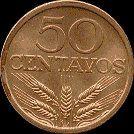 50 Centavos - bronze, 1969