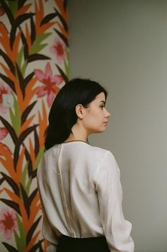 Julia wearing Samuji Sophie Blouse | Photo by Twins Shop