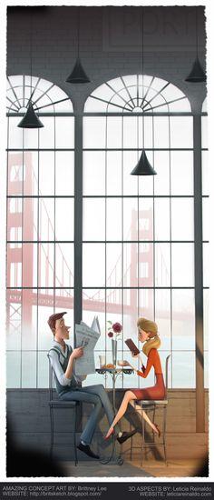 Morning Fog by Leticia Reinaldo | Cartoon | 3D | CGSociety