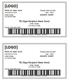 shipping label template templates for microsoft word tags pinterest label templates microsoft word and free printable - Free Printable Shipping Label Template