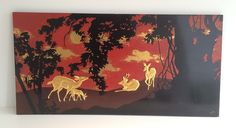 Lacquered panel with ram and does decor. Circa1950-barrois-antiques-50's-17415_main_636287163496888578.jpg
