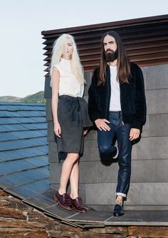 The Fashion Editorial 'Eureka FW 13/14' Fronts 70s Glam Looks #hipster #fashion trendhunter.com