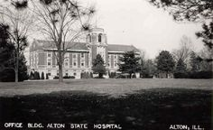 Alton State Hospital (Historic Asylums) circa 1914