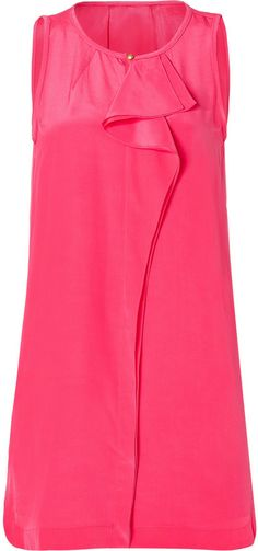 Marc by Marc Jacobs Silk Alex CDC Dress in Neon Pink on shopstyle.com