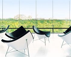 Coconut Chairs by George Nelson. Manufactured by Vitra