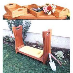 Garden Kneeling Bench Garden Kneeling Bench Pinterest