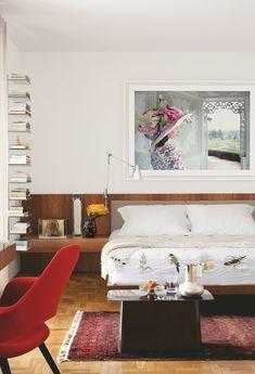 Confira nossa seleção de quartos de casal que têm como base uma decoração neutra e que permite usar e abusar das cores nos detalhes