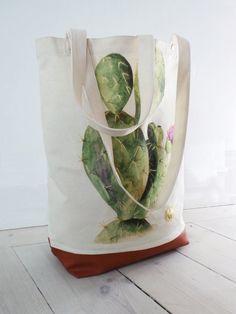 100 % coton biologique  aquarelle peint à la par AnnetWeelinkDesign