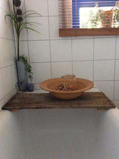 DIY -Ablage für Badewanne! Wofür Paletten alles gut sind!