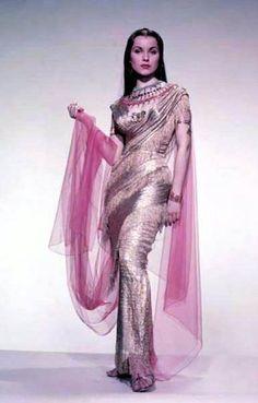 "Debra Paget in ""The Ten Commandments"" (1956)."