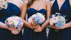 Bridesmaid wedding bouquets Wedding Bridesmaids, Wedding Bouquets, Bridesmaid Dresses, Wedding Dresses, Our Wedding, Wedding Photography, Photos, Ideas, Fashion