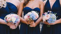 Bridesmaid wedding bouquets