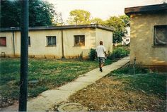 Some of the living quarters that the kibbutz volunteers called home, Kfsr Blum, Israel, 1997.