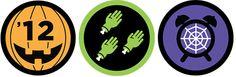Halloween badge su Foursquare