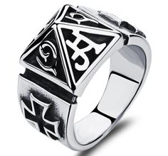 US$ 2.63 Stainless Steel Cross Ring from Factory