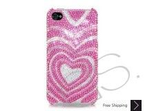 Sweet Heart Bling Swarovski Crystal iPhone 5 Cases