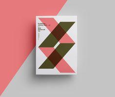 A F F i C H E  #Minimalist #typographic #design : Quim Marin et le minimalisme, la typographie le travail sur la forme et les couleurs.