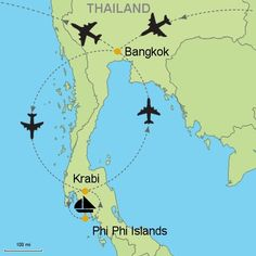 How to get to Krabi, Thailand