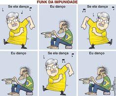 Brasil-PT-2006-Charge-Funk da impunidade-Charge de Lute